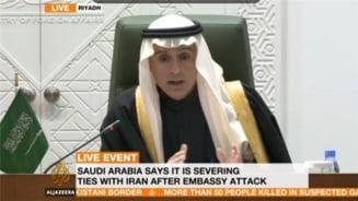 Arabia Saudita a intrerupt relatiile diplomatice cu Iranul: Aveti 48 de ore sa plecati! (Video)
