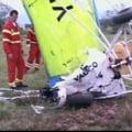 Arad: Pilotul mort in dupa ce s-a prabusit deltaplanul nu avea licenta de zbor