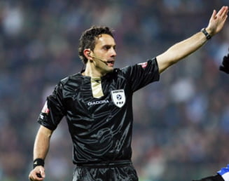 Arbitrul Sebastian Coltescu, la DNA (Video)