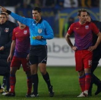 Arbitrul de la Petrolul - Steaua rupe tacerea