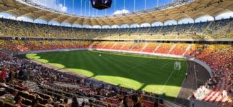 "Arena Nationala: de la ""musuroaie de cartita"" la gazon hibrid VIDEO"