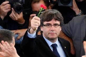 """Arestare de răsunet în Italia. Liderul separatist catalan Carles Puigdemont, capturat la sosirea în Sardinia: """"Călătorea ca deputat european"""""""