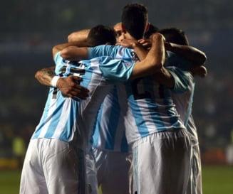 Argentina, in finala Copa America dupa ce a zdrobit Paraguay