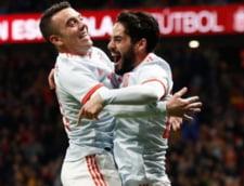 Argentina, invinsa de Spania cu 6-1