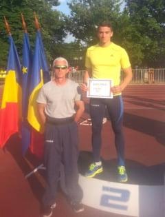 Argint pentru atletul satmarean, Gheorghe Corondan