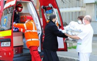 Arhiepiscopia Dunarii de Jos ofera 10.000 de masti de protectie pentru personalul medical, auxiliar si pacientii din spitalele din Braila, Galati si Tecuci