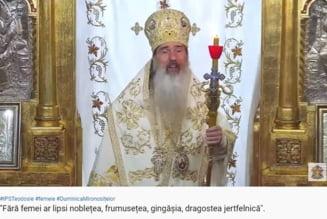 "Arhiepiscopul Teodosie revine la pareri pozitive despre femei. Predica in care vorbeste despre ""nobletea, frumusetea si gingasia"" acestora VIDEO"