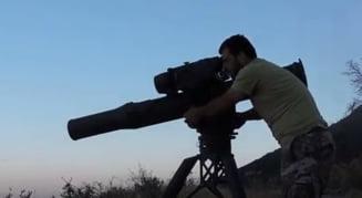 Arma data de americani rebelilor care ii ajuta sa distruga tancurile rusesti ale regimului sirian