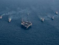 Armada anuntata de Trump pentru Peninsula Coreeana a ajuns in alta parte a lumii