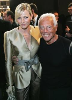 Armani va crea rochia de mireasa a viitoarei printese de Monaco