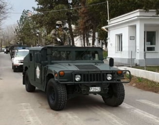Armata a iesit pe strazi in Bucuresti (Foto&Video)