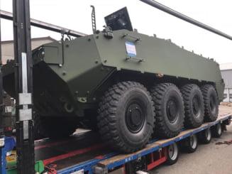 Armata cere 8 milioane de euro penalitati pentru ca transportoarele Piranha V n-au fost livrate la timp