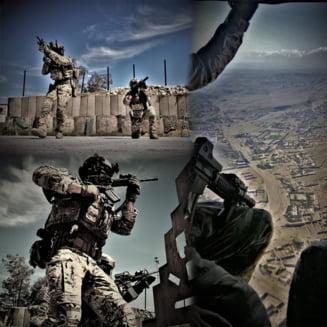 Armata face angajari in fortele speciale, inclusiv la parasutisti comando