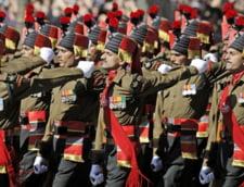 Armata indiana, in pas de defilare pe strazile Parisului
