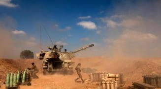 Armata israeliana a anuntat ca peste 2.000 de rachete au fost lansate din Gaza. Armata riposteaza doar daca atacul vizeaza zonele locuite