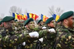Armata romana a trecut din nou pe sub Arcul de Triumf - repetitie pentru Ziua Nationala