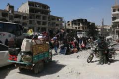 Armata siriana anunta ca a recucerit complet Ghouta. Ultimii rebeli au parasit enclava dupa atacul de sambata