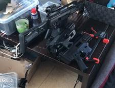 Arme de foc fabricate intr-o casa din Timis, de un irakian, cu ajutorul unei imprimante 3D. Politia a facut sase perchezitii in acest caz