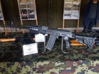 Armele fabricate la Cugir ajung in toata lumea, mai putin acasa. Ce s-a intamplat cu pistolul mitraliera conceput special pentru Armata Romana