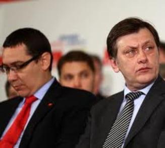Armistitiu in USL: Ponta si Antonescu, impreuna la congresul TNL