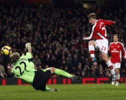 Arsenal, noul lider din Premier League