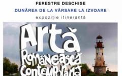 """Arta contemporana. Expozitia""""Ferestre deschise- Dunarea, de la varsare la izvoare"""", pana pe 4 iulie pe malul Borcei"""
