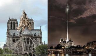 Asa ar putea arata Catedrala Notre-Dame in viitor? 9 propuneri pentru reconstructia acoperisului