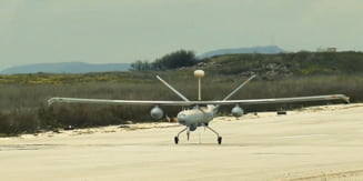 Asa arata drona militara care ar putea fi fabricata in Romania. O companie de tehnica de aparare din Israel propune MApN un Hermes 450