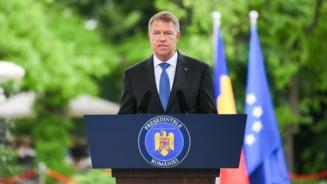 Asa cum a anuntat, Iohannis a promulgat prima dintre Legile Justitiei