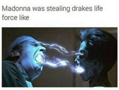 Asa ramane Madonna tanara? Comparata cu Dracula si batjocorita in fel si chip (Galerie foto)