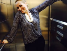 Asa se da burta jos dupa Paste! Andreea Esca, disciplina de dupa Sarbatori (Foto)