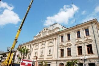 Asalt final pentru reabilitarea Teatrului *Maria Filotti*