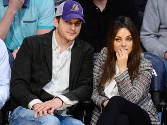 Ashton Kutcher a inselat-o pe Mila Kunis