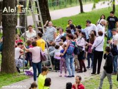 Asociatia Alo! Tata! sarbatoreste Ziua Tatalui pe 8 mai in Parcul Copiilor