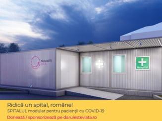 Asociatia Daruieste Viata construieste un spital modular pentru bolnavii de COVID-19