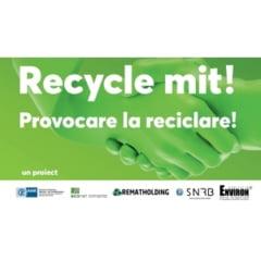 "Asociatia Environ si Camera de Comert si Industrie Romano-Germana lanseaza ""Provocare la Reciclare!"""