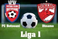 Astazi: FC Botosani- Dinamo Bucuresti