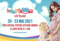 Astazi se deschide Baby Boom Show Virtual, cel mai mare targ online pentru copii si viitoare mamici