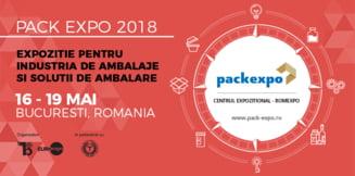 Astazi se deschide Pack Expo 2018, cea mai mare expozitie de packaging din Europa de Sud-Est!
