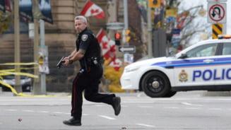 Atac armat in Parlamentul din Ottawa: Toata Canada, in soc