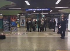Atac armat intr-o gara din Frankfurt, soldat cu mai multe victime