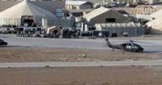 Atac cu rachete asupra unei baze aeriene din Irak. Doi soldati au fost raniti