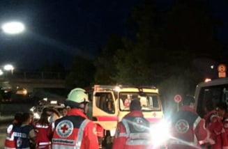 Atac cu toporul intr-un tren din Germania: Peste 20 de raniti