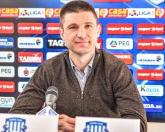 """Atac grotesc al antrenorului Andrei Cristea la adresa arbitrului: """"Mai bine mureai la operatie"""""""