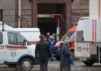 Atac terorist la metroul din Sankt Petersburg: Bilantul exploziei creste la 11 morti si 45 de raniti (Foto&Video)
