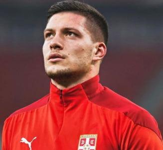 Atacantul sarb Luka Jovici va fi imprumutat de Real Madrid la Eintracht Frankfurt