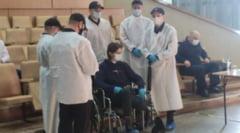 Atacatorul Universității din Perm, judecat în incinta spitalului unde este internat după ce i s-a amputat un picior