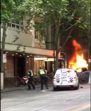 Atacatorul de la Melbourne a condus o masina plina cu butelii de gaz. Statul Islamic a revendicat atacul