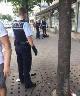 Atacul cu maceta din Germania, o crima pasionala? Atacatorul era indragostit de femeia pe care a injunghiat-o