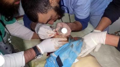 Atacuri chimice in Siria soldate cu cel putin 100 de morti si alte sute de raniti. Trump da vina pe Obama